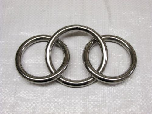 8MM x 60MM Stainless Steel Spectacles (Ring Sets) - Marine Netting Links